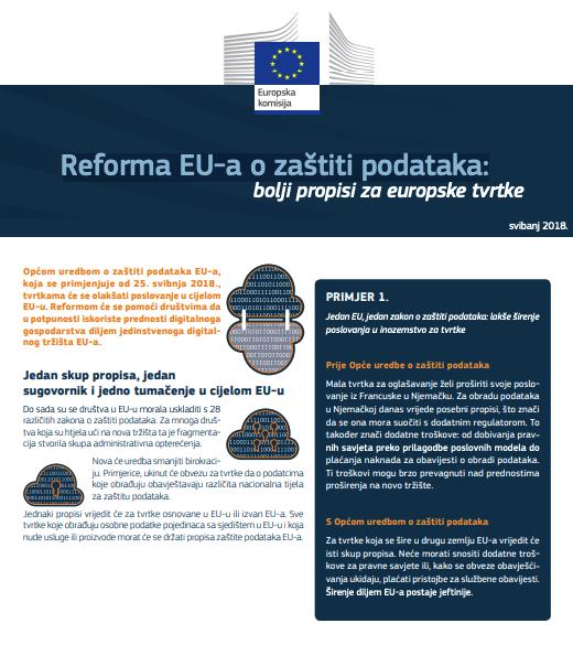 Reforma EU-a o zaštiti podataka