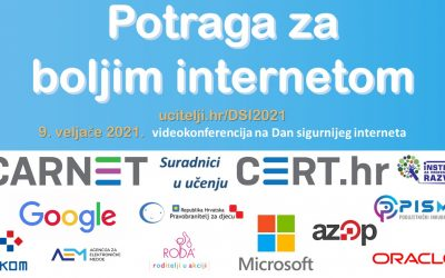 AZOP obilježio Dan sigurnijeg interneta, 9.veljače 2021.