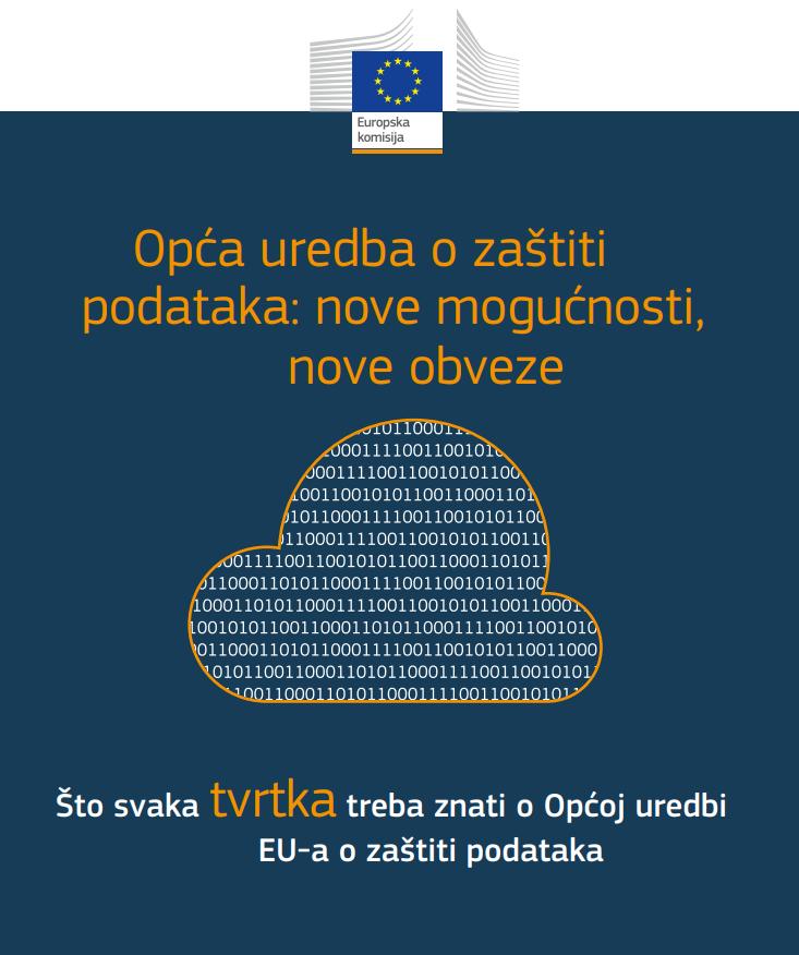 Priprema za GDPR u sedam koraka (informativna brošura za poduzeća)