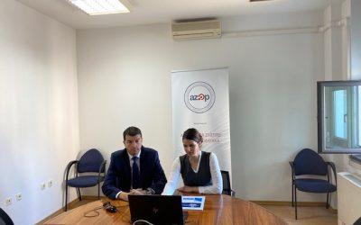Održana edukacija za službenike za zaštitu podataka u javnom sektoru