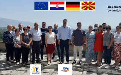 Twinning project in North Macedonia: first expert mission of the AZOP project team