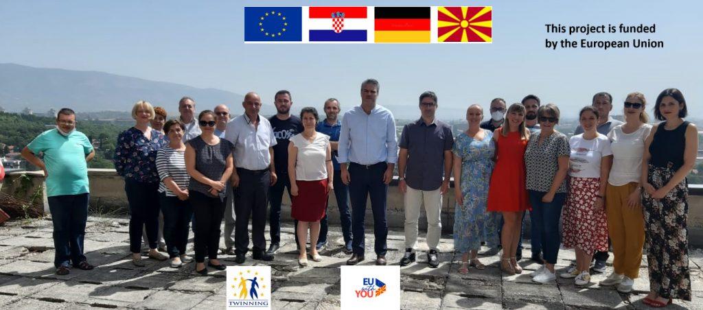 Twinning projekt u Sjevernoj Makedoniji