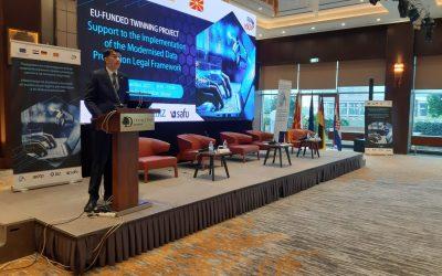 """U Skoplju predstavljen Twinning projekt """"Pružanje potpore u implementaciji moderniziranog zakonodavnog okvira zaštite osobnih podataka"""""""